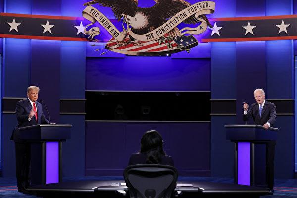 川普与拜登终场辩论 引发加州选民热议