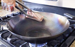 【美食天堂】鐵鍋開鍋的家庭做法~鐵鍋變成不沾鍋!