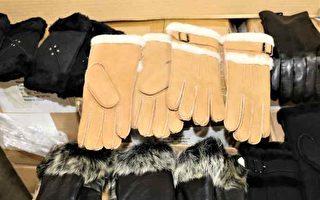 美海關扣留1900副中國手套 指產品涉及奴工