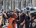 BLM和反警抗议令受伤警员激增