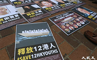 声援12港人 台湾公民团体发起1025游行