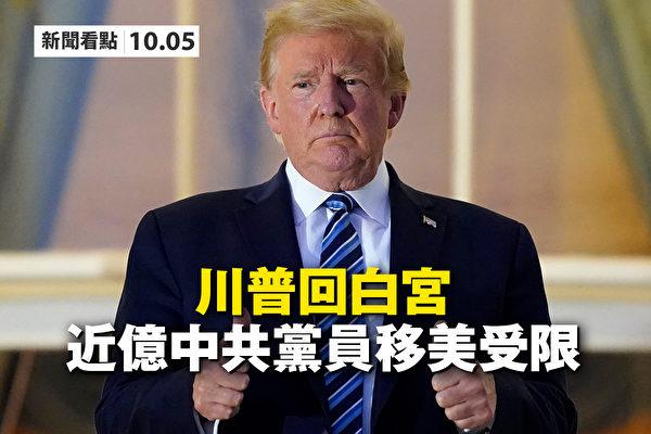 【新聞看點】川普回白宮 9千萬中共黨員移美受限