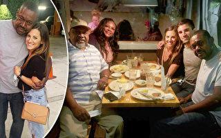 洛杉矶流浪汉离家20年 善心女助其与家人团圆