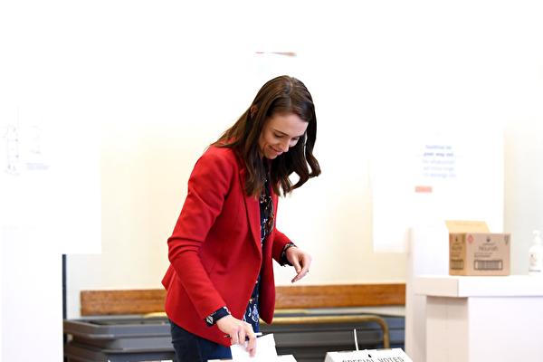 新西蘭大選計票顯示工黨暫時領先