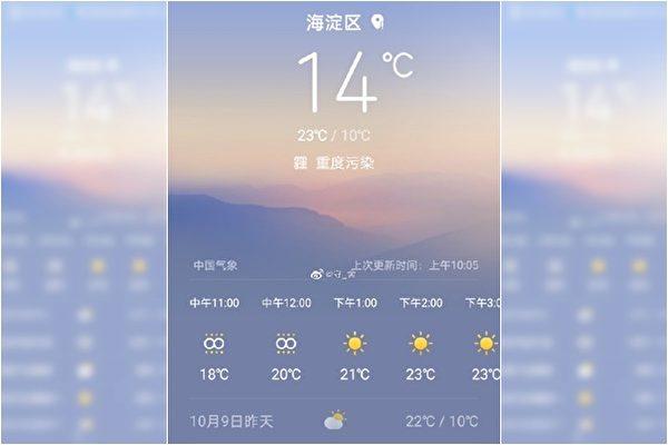 北京現五級重度污染天氣 「空氣都是臭的」