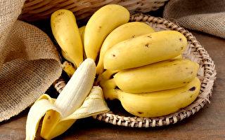 甘入脾,香蕉等甘味食物具有补益脾胃的作用。(Shutterstock)