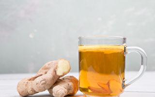 換季或氣溫變化會引起流鼻水、鼻塞等過敏症狀加重,此時可飲用薑茶舒緩。(Shutterstock)