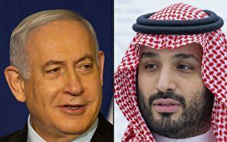 蓬佩奥中东促和平 以色列总理首晤沙特王储