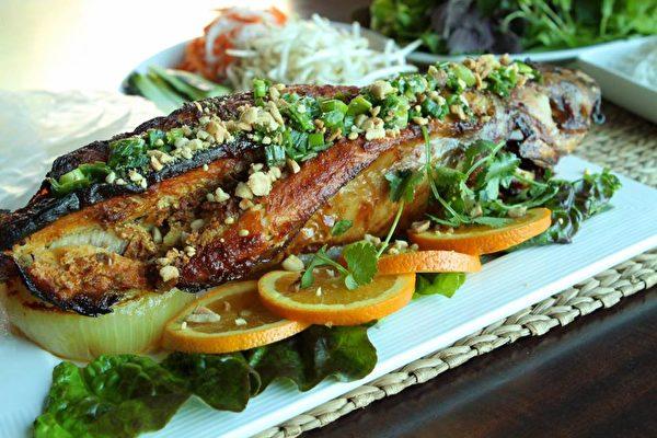洛杉磯越式烤鯰魚推薦Sau Can Tho 正宗越南料理