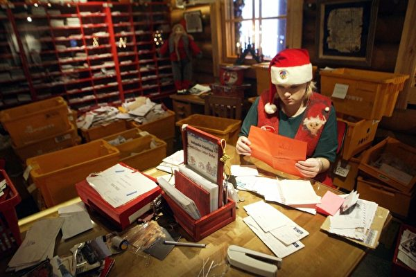 美国邮政局第108届圣诞老人行动已开始