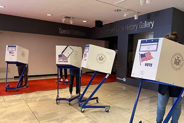 曼哈頓中城投票站氣氛平靜 有人選川普有人選拜登