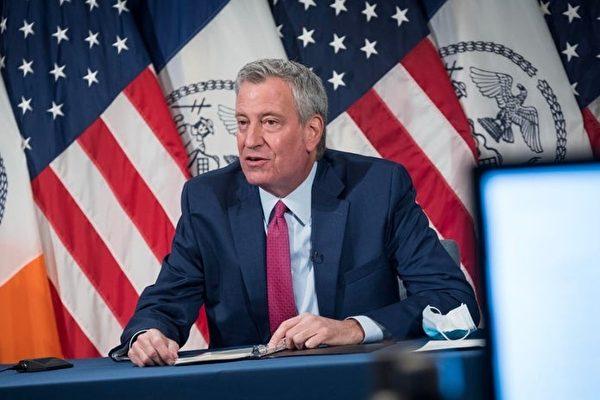 紐約市長:最後機會遏止第二波疫情發生