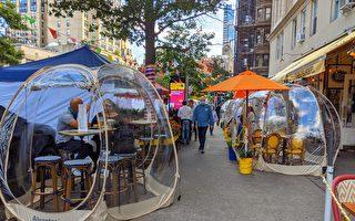 纽约市府更新冬季户外用餐区布置规定