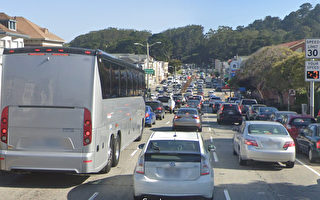 旧金山19大道周一起施工 将导致交通延误
