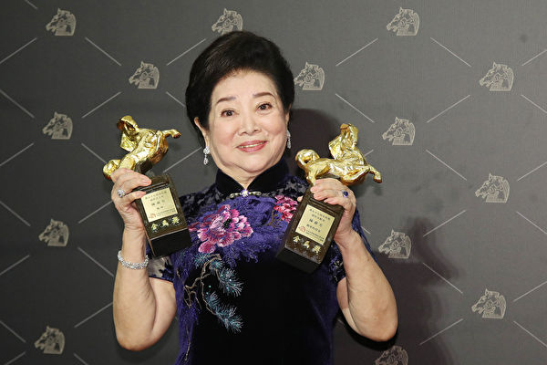 陈淑芳拍戏63年金马封后 荣获女主角女配