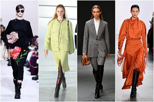 秋冬女装7大流行元素 实用与时尚并重