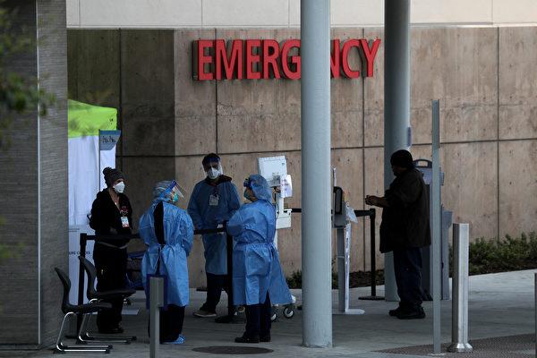 加州確診人數激增 醫護人員面臨短缺