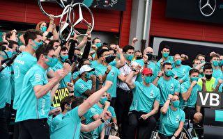 梅奔豪取車隊七連冠 破法拉利16年前F1紀錄