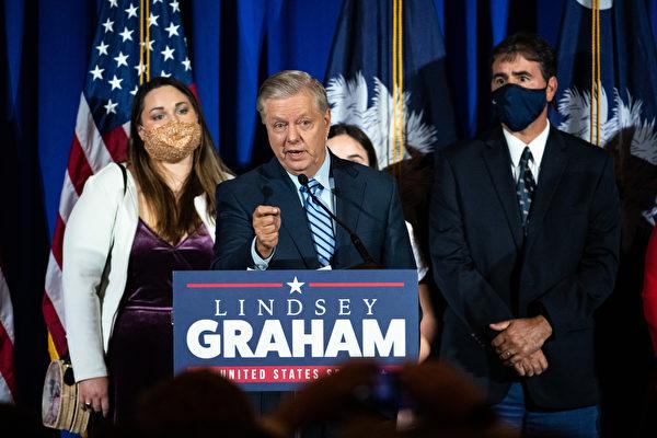格雷厄姆力挺川普 捐50萬美元挑戰問題州