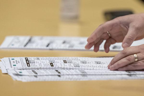 威斯康星州部分选区投票率异常高