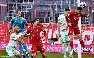 德甲第8轮:拜仁主场10连胜被不莱梅终结