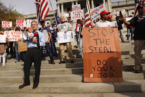 川普團隊:民主黨在全美撒謊作弊和偷竊