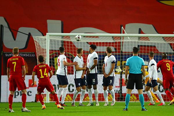 欧洲国家联赛 比利时胜英格兰位居小组头名