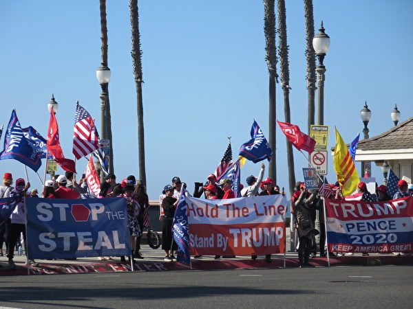南加州各族裔:我們和川普總統站在一起