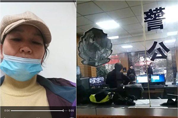 李怀庆庭审当天 公民记者路过法院被传唤