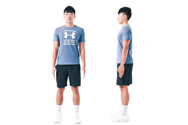 正确姿势让你更精神,而且运动时增加训练和增肌效果。5大动作训练姿势。(日日幸福提供)