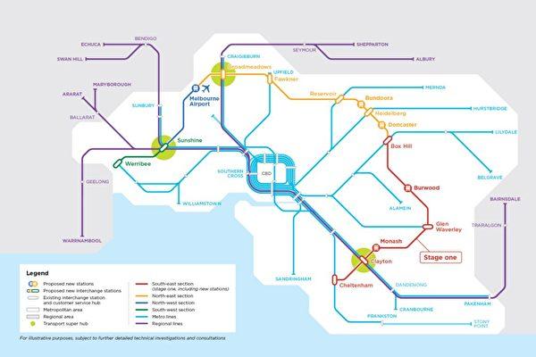 Suburban Rail Loop