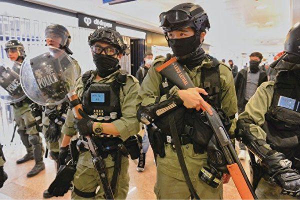 香港高院裁定警不展示編號違人權法