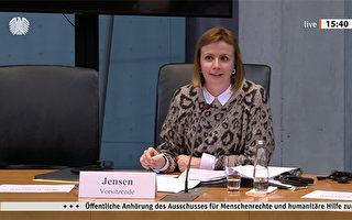 德国会听证中国人权现状 法轮功受邀发言