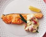 不难!一只平底锅做出2道鱼料理和异国配菜