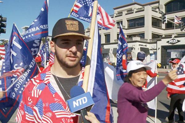 遭社媒審查不言棄 加州年輕選民:川普將勝出