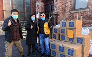 纽约居民联盟向104岁居民赠送免费食品