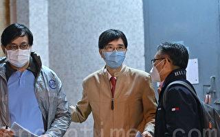 组图:香港东头邨爆发疫情 袁国勇到场视察