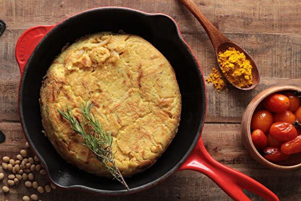 素食创意料理:板豆腐烘蛋 营养满分