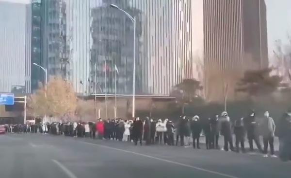 北京融汇社区以外出现病例 上海疫情升级