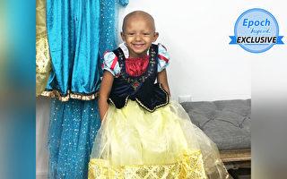 摄影师免费款待罹癌女童 到迪士尼拍公主照