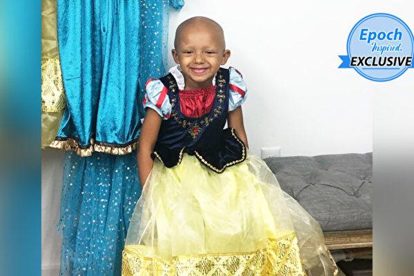 攝影師免費款待罹癌女童 到迪士尼拍公主照