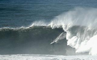 對加州北部海岸線 國家氣象局發大浪危險警告