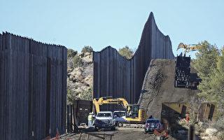 组图:川普政府继续兴建美墨边界墙