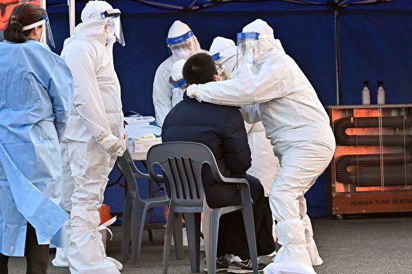 組圖:韓國疫情升溫 當局新增臨時檢測中心