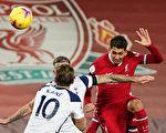 利物浦在主场2:1战胜热刺
