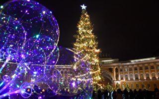 組圖:疫情陰影下 世界各地迎聖誕