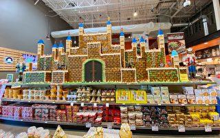 K Market巨型姜饼屋 圣诞节回馈社区