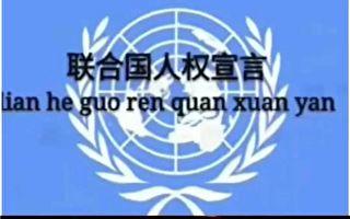 人权日 访民喊:我是中国人我没有人权
