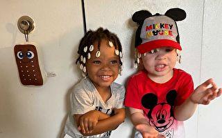 基因遗传诞下黑白双胞胎 非裔母亲:上帝恩赐