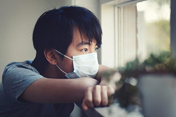感染新冠病毒隔离期间,要注意哪些事?(Shutterstock)